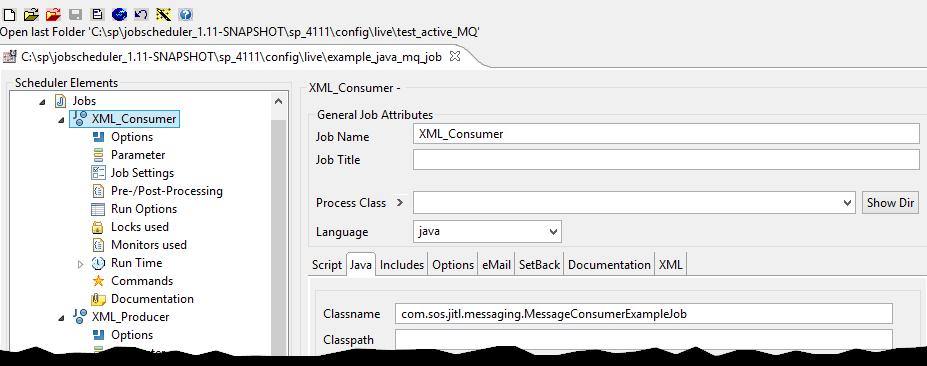 Example - How to Write Java JobScheduler Jobs that