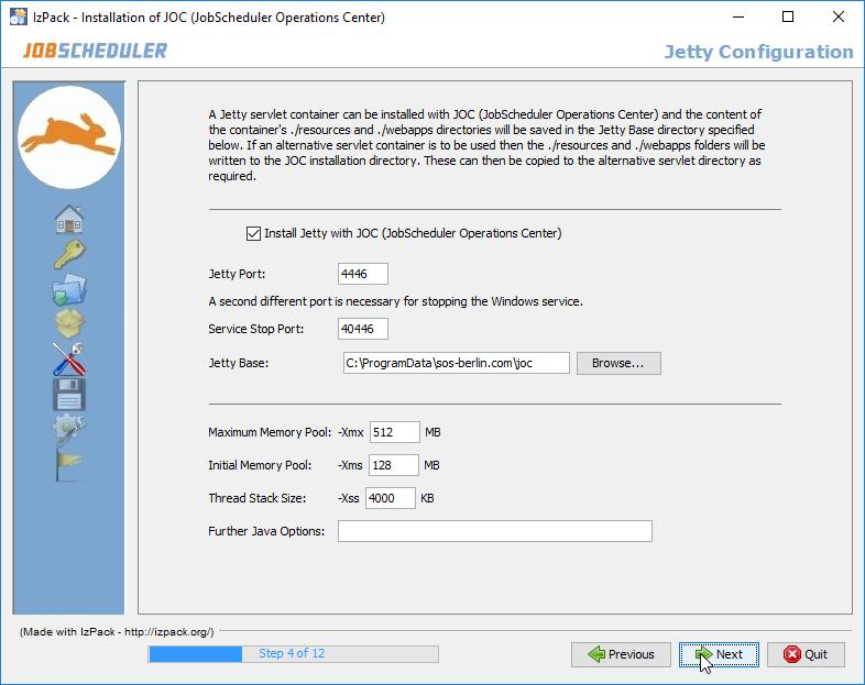 JOC Cockpit - Installation - Product Knowledge Base