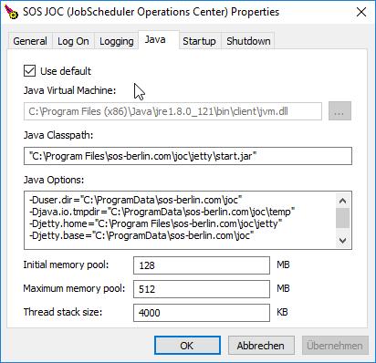 JOC Cockpit - Installation - Product Knowledge Base - Product
