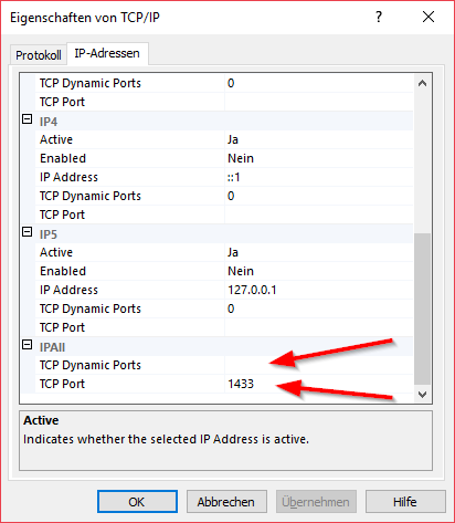 How to solve SQLServerException: The TCP/IP connection to the host