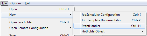 how to use event handler